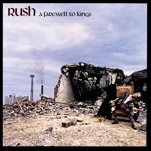 Rush - A Farewell to Kings album cover
