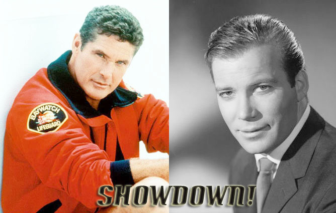 Showdown: Hasselhoff vs. Shatner