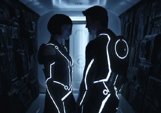 My user thinks the Tron Legacy trailer looks promising