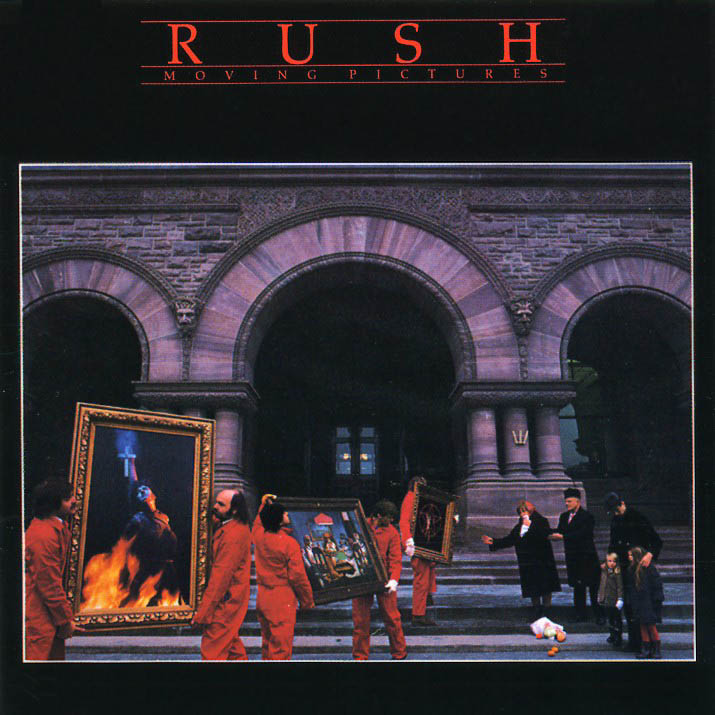 Album cover of the week moving pictures - Rush album covers ...
