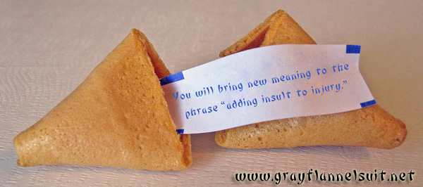 A fortune cookie for Sarah Palin