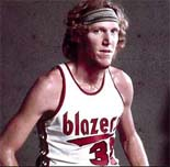 Bill Walton of the Portland Trail Blazers