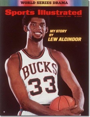 Lew Alcindor of the Milwaukee Bucks