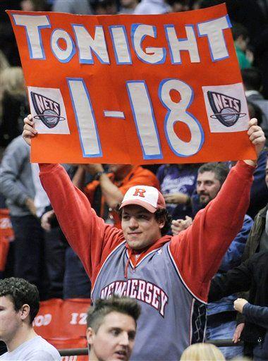 Sad New Jersey Nets fan