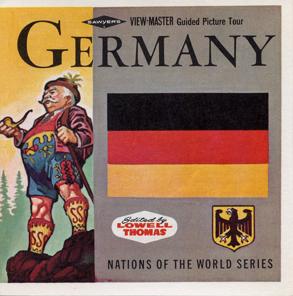 Vintage View-Master: Germany (Nations of the World series), reel 2