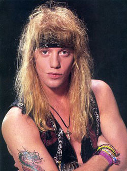 Listening booth — RIP Jani Lane of Warrant