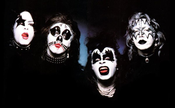 Kiss band photo from 1973.
