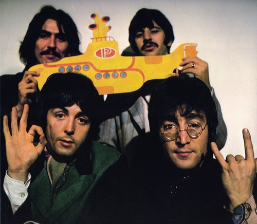 The Beatles, 1968 Yellow Submarine promo shot