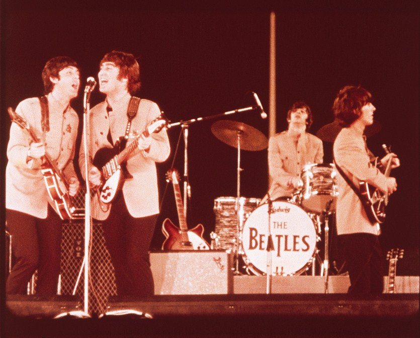 The Beatles, 1965, Shea Stadium, Queens, NY