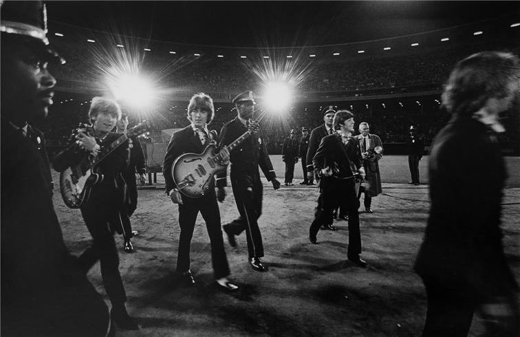 The Beatles, 1966, Candlestick Park, San Francisco, California