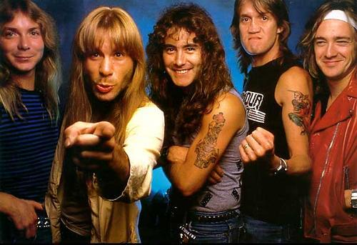 pop culture capsule iron maiden through the years. Black Bedroom Furniture Sets. Home Design Ideas