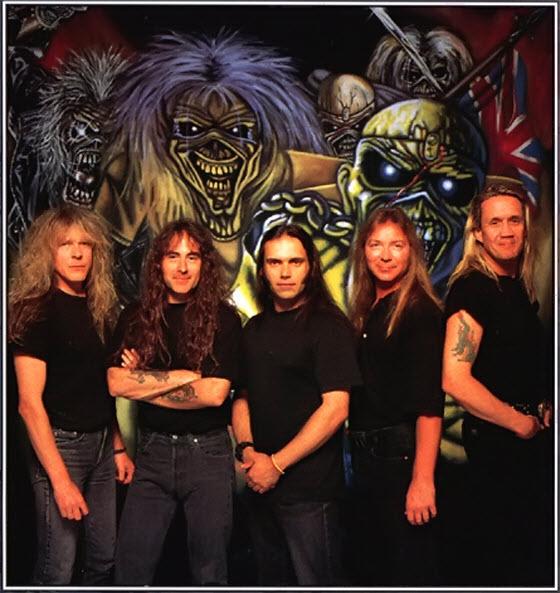 Iron Maiden, 1995