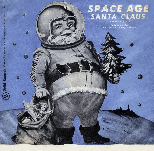 Album Cover of the Week: Space Age Santa Claus