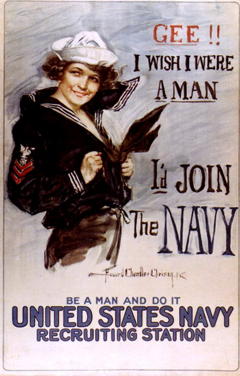 World War I U.S. Navy recruitment poster