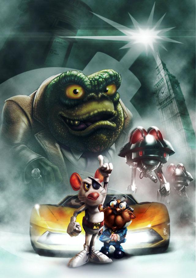Danger Mouse Movie Poster Art