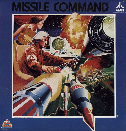 Missile Command album cover (1982)
