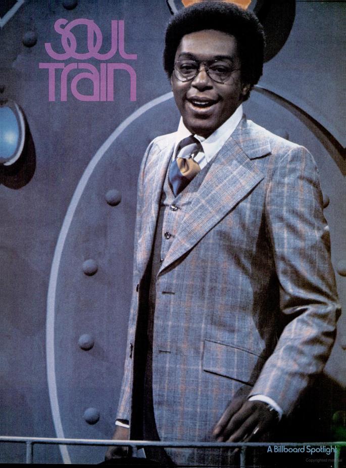 'Soul Train' Billboard magazine spotlight - September 28, 1974