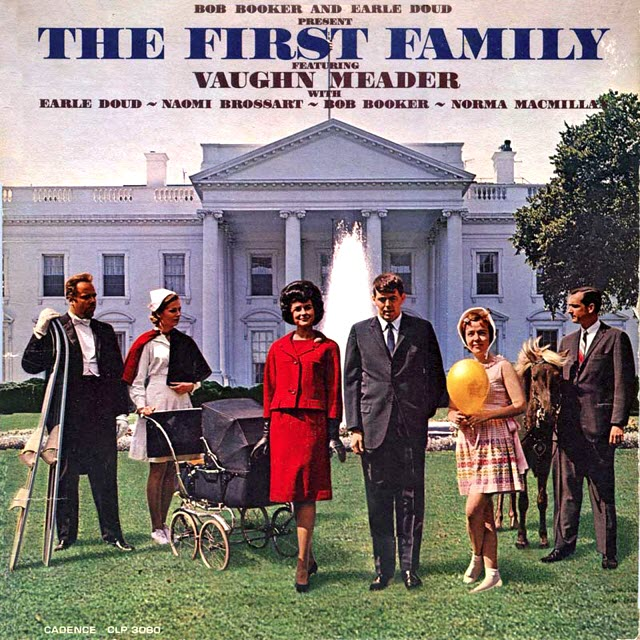 Album cover of the week: Vaughn Meader, The First Family