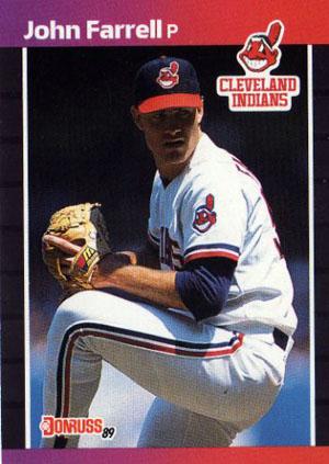 John Farrell, Cleveland Indians (1989 Donruss baseball card)