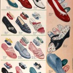 Sears Catalog, Spring/Summer 1958 - Women's Shoes