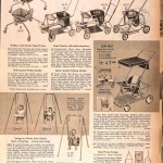 Sears Catalog, Spring/Summer 1958 - Baby Gear
