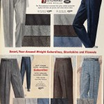 Sears Catalog, Spring/Summer 1958 - Men's Pants