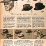 Sears Catalog, Spring/Summer 1958 - Men's Hats