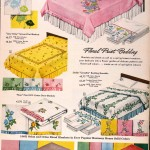 Sears Catalog, Spring/Summer 1958 - Bedding