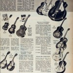 Sears Catalog, Spring/Summer 1958 - Guitars