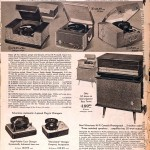 Sears Catalog, Spring/Summer 1958 - Record Players