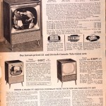 Sears Catalog, Spring/Summer 1958 - Televisions