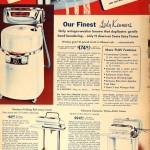 Sears Catalog, Spring/Summer 1958 - Clothes Washers