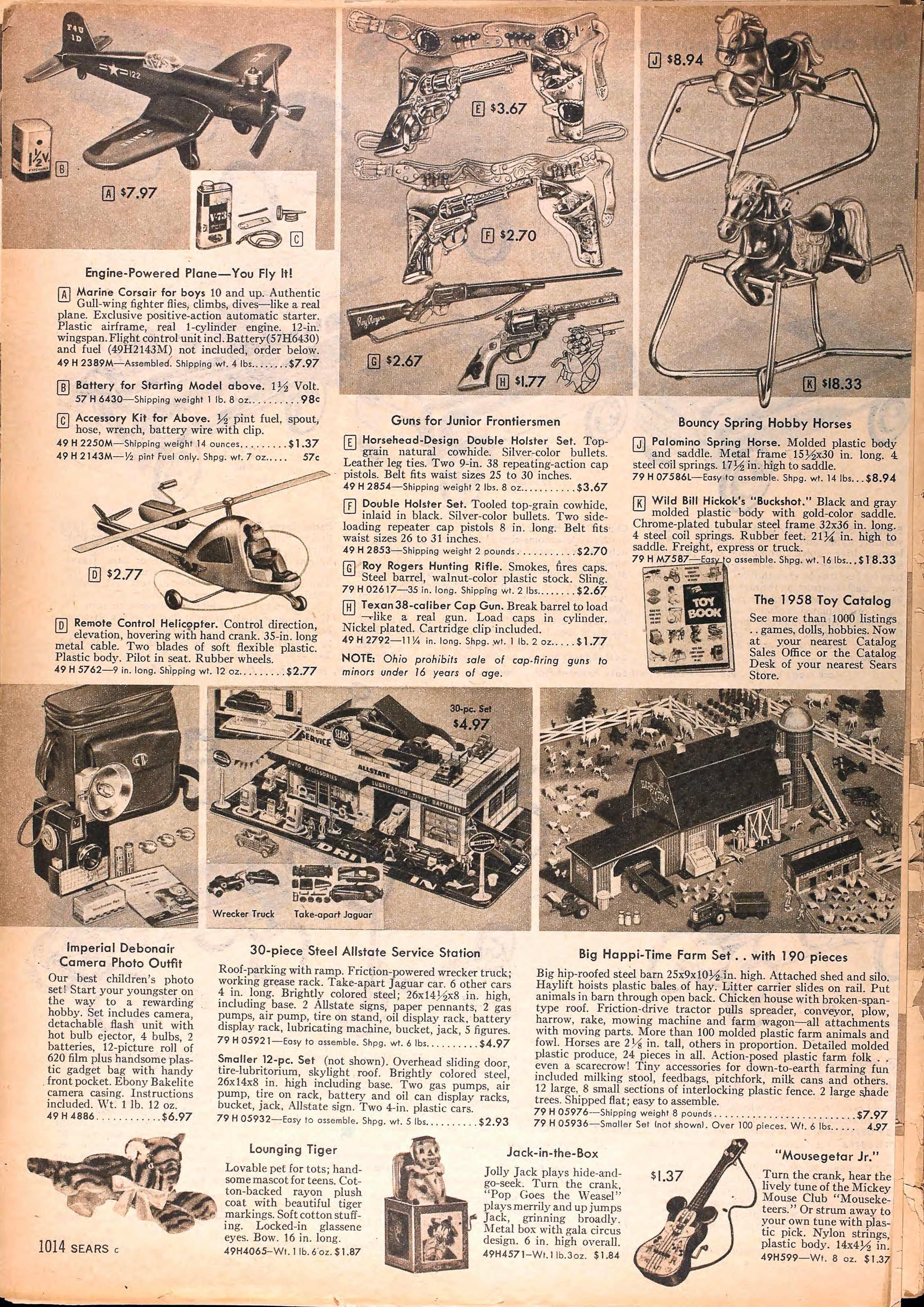 K Catalog 1950s Sears Catalog Pi...