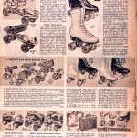 Sears Catalog, Spring/Summer 1958 - Roller Skates