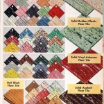 Sears Catalog, Spring/Summer 1958 - Floor Tiles