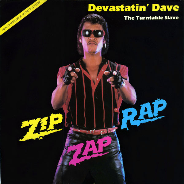 "Music from the Worst Album Covers — Devastatin' Dave, ""Zip Zap Rap"""