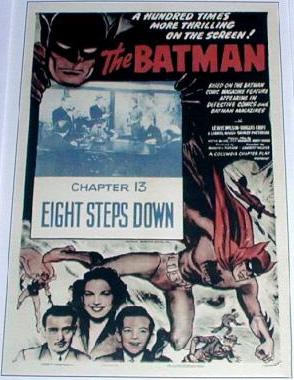 """""""Eight Steps Down"""" (Batman 1943, Chapter 13)"""
