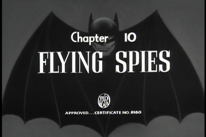 "Saturday Serials: ""Flying Spies"" (Batman 1943, Chapter 10)"