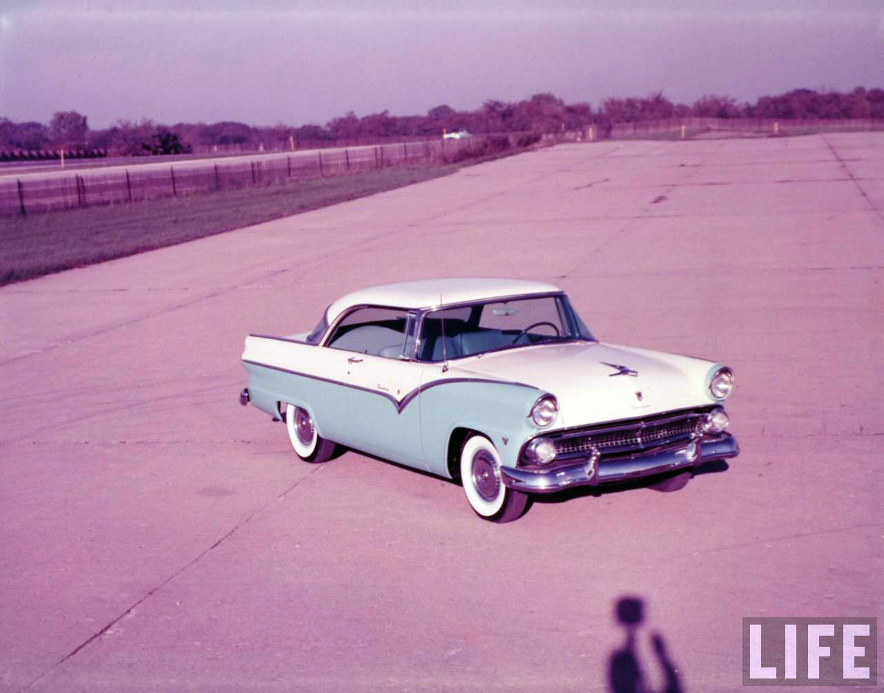 1955 ford fairlane crown victoria blog cars on line - 1955 Ford Mercury New Car Photo Shoot