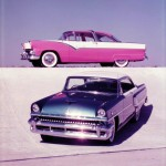1955 Ford & Mercury New Car Photo Shoot