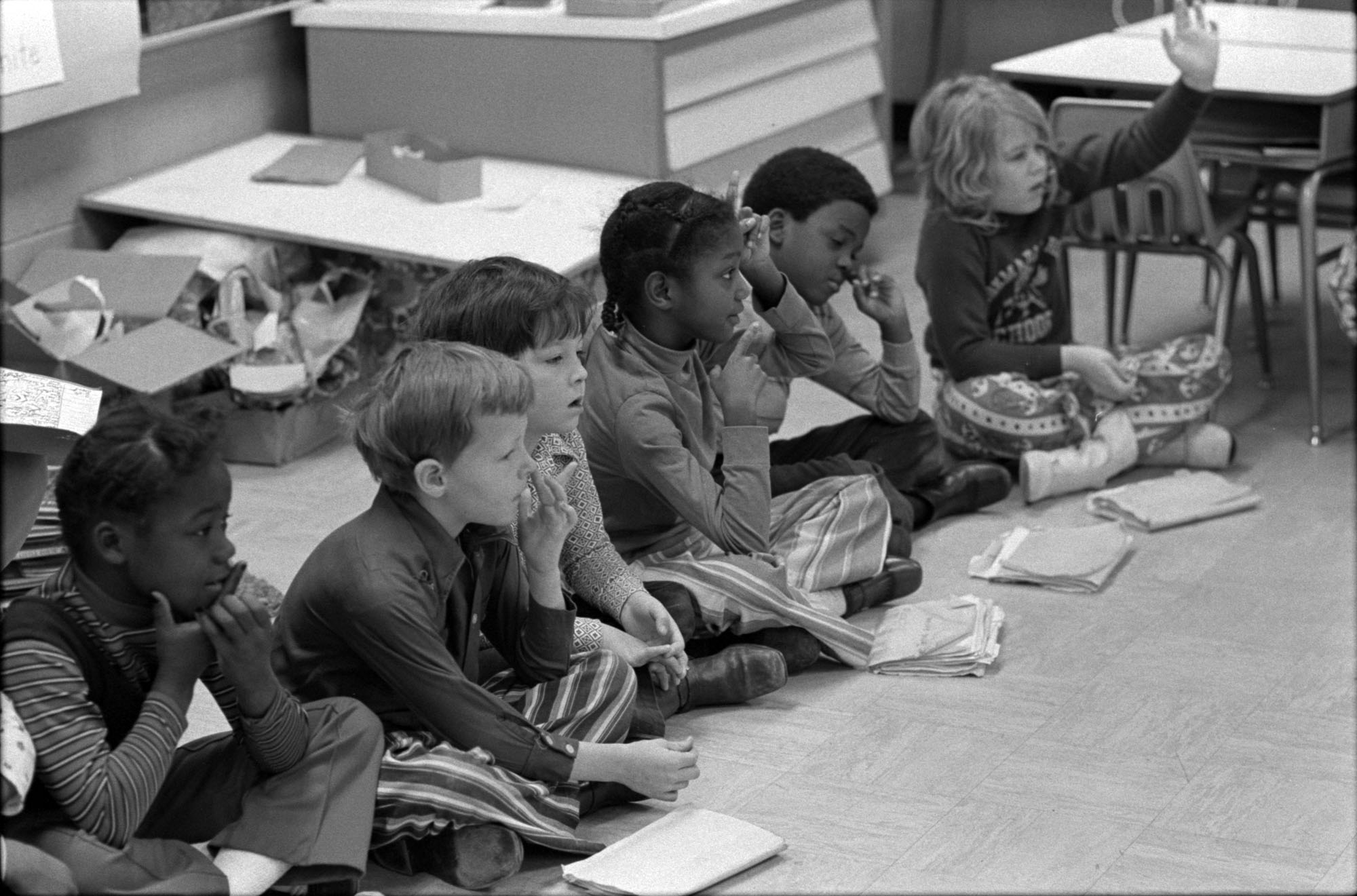 Vintage photo wednesday back to old school for Room and board kids