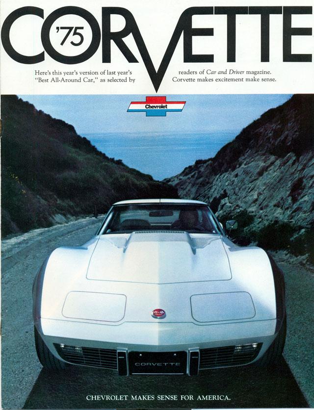 1975 Chevy Corvette ad
