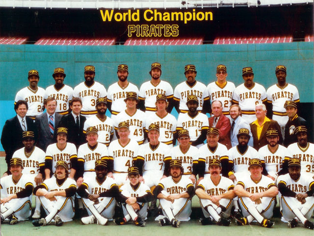 1979 Pittsburgh Pirates World Series Champion team photo