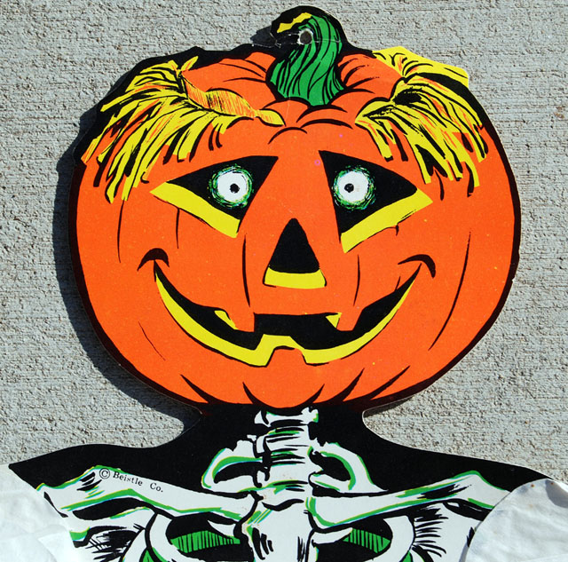 A Gallery Of Vintage Beistle Halloween Decorations Part 2