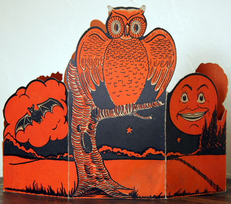 vintage beistle halloween decoration centerpiece - Beistle Halloween Decorations