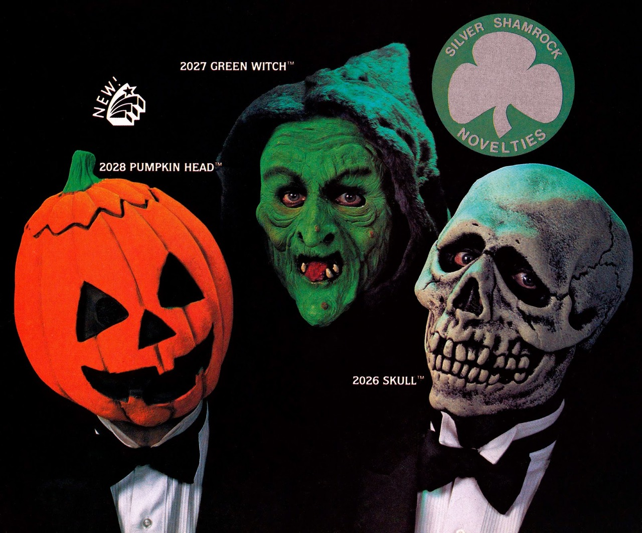 Halloween III Season of the Witch (Silver Shamrock masks)