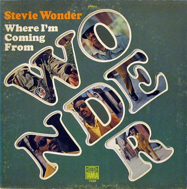 Album Cover of the Week: Stevie Wonder, Where I'm Coming From
