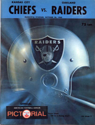 Oakland Raiders at Kansas City Chiefs - October 20, 1968