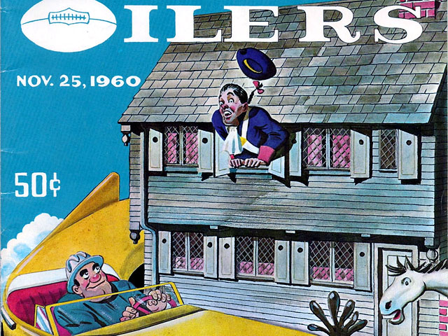 Houston Oilers at Boston Patriots - November 25, 1960