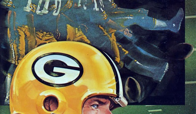 NFL Media Guide/Yearbook cover - Green Bay Packers 1982